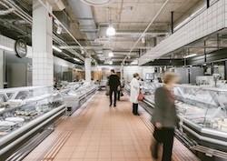 Рыбный отдел Балтийский рынок
