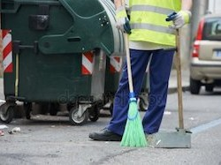 Уличная уборка