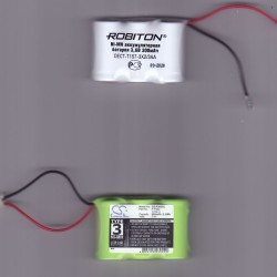 2-х аккумуляторных батарей