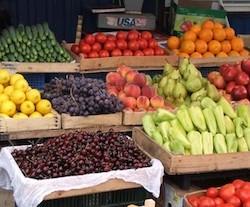 Торговля овощами