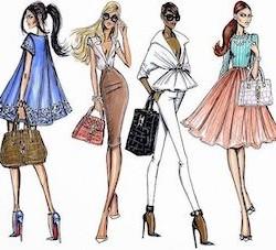 Продавец женской одежды